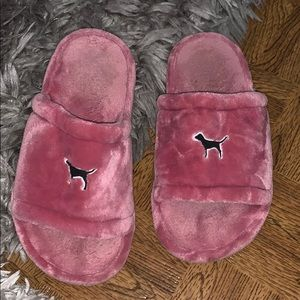 Victoria secret pink slippers